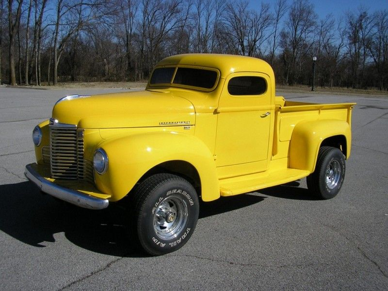 1948 International Harvester | Automobiles, Hot Rods and Race Cars ...