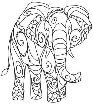 The Delicate Ones - Elephant_image   Paper embroidery ...