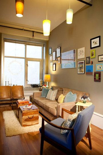 Organized Living Room: Ultra Organized Living Rooms From Our House Tours