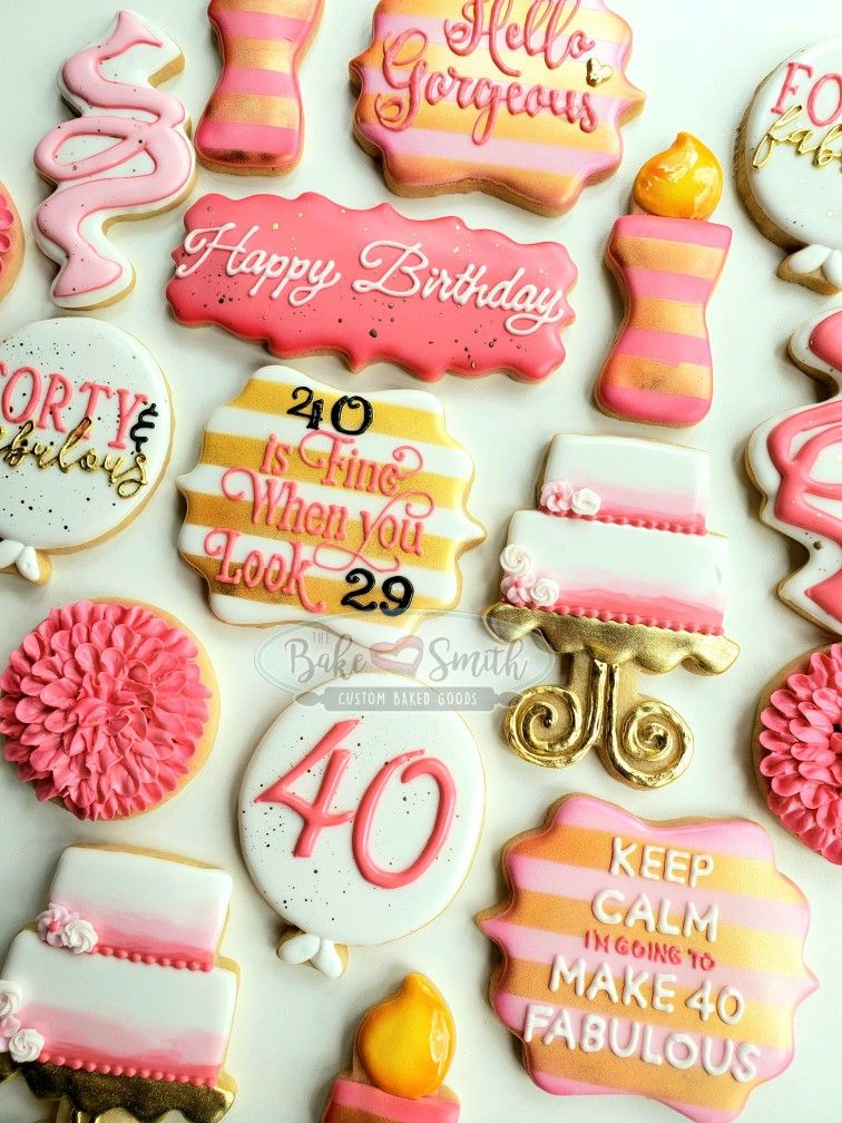 Tremendous Pin By Jennifer Tripp On 40Th In 2020 40Th Birthday Cakes Personalised Birthday Cards Cominlily Jamesorg
