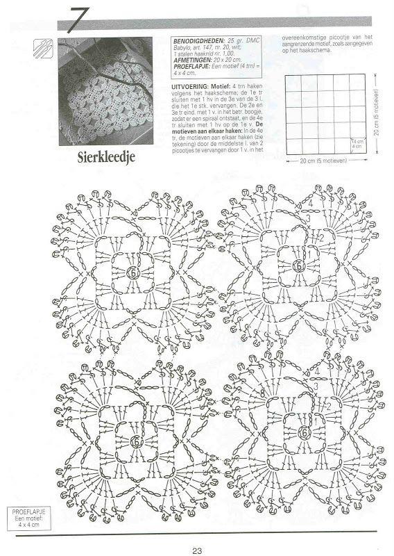 Creaciones Crochet nº 28 - 12345 - Álbumes web de Picasa   Crochet ...