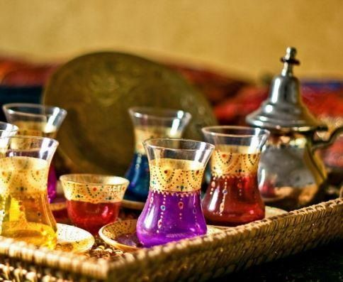 Moroccan Tea Arabic Tea Tea Set Turkish Tea