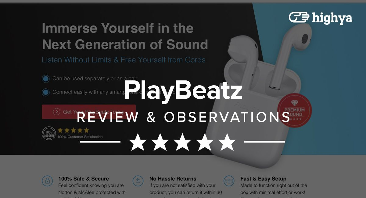 While PlayBeatz look like Apple AirPods and even allude to
