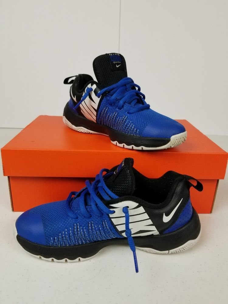 969b5f33f187 Boys Blue Nike Hustle Quick shoes blue and black size 4Y  fashion  clothing   shoes  accessories  kidsclothingshoesaccs  boysshoes (ebay link)