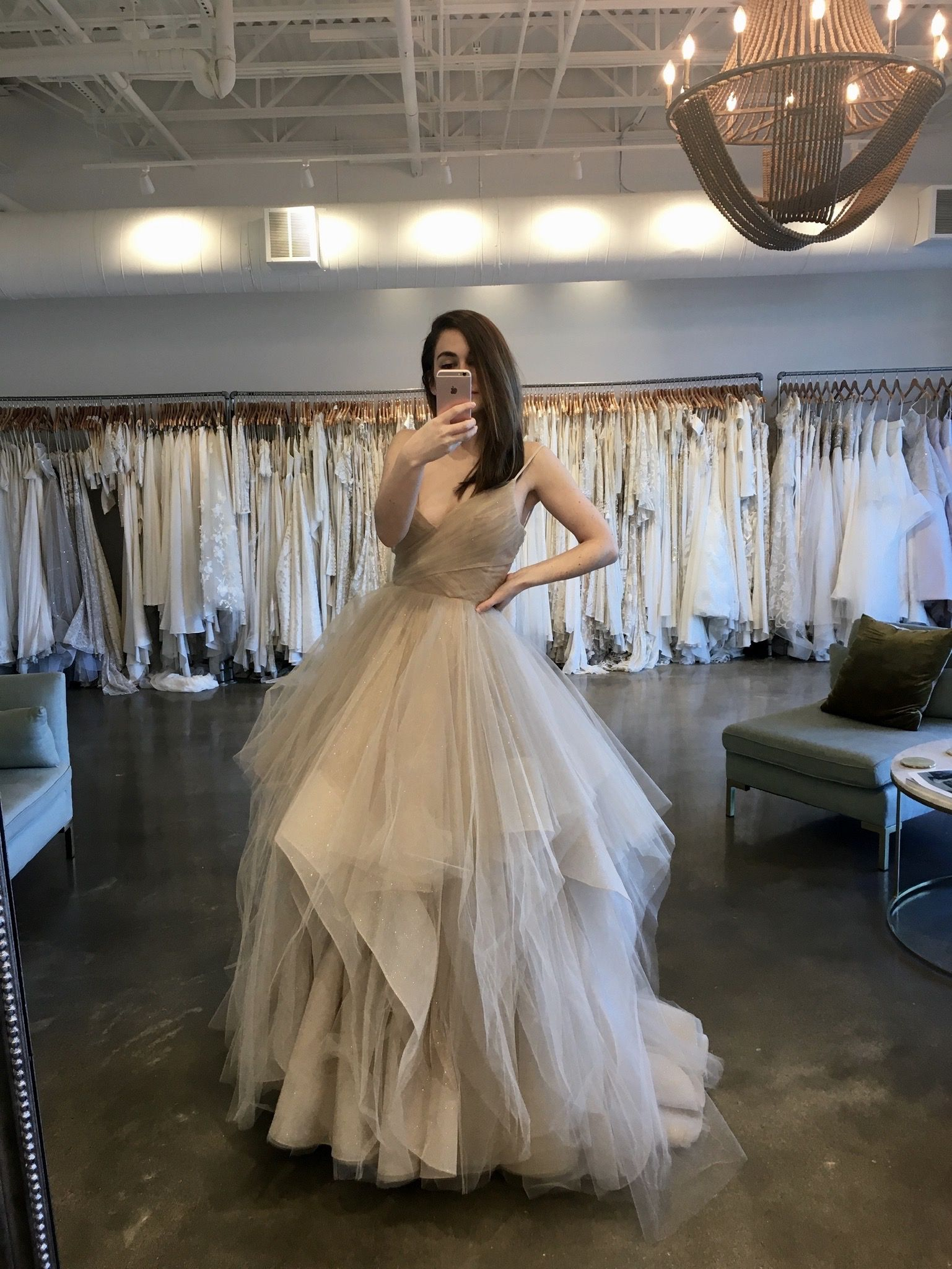 Hayley Paige at LVD Bridal in 2020 Wedding dress
