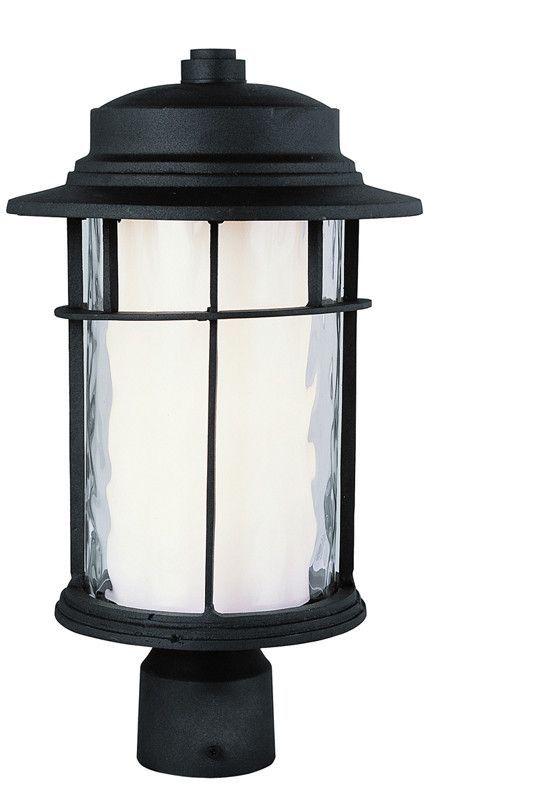 Trans Globe Lighting 5294 BK Craftsman Outdoor 1 Light Post Lantern  sc 1 st  Pinterest & Trans Globe Lighting 5294 BK Craftsman Outdoor 1 Light Post Lantern ...