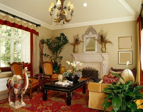 Eclectic is a mixture of different decorating styles. This ...
