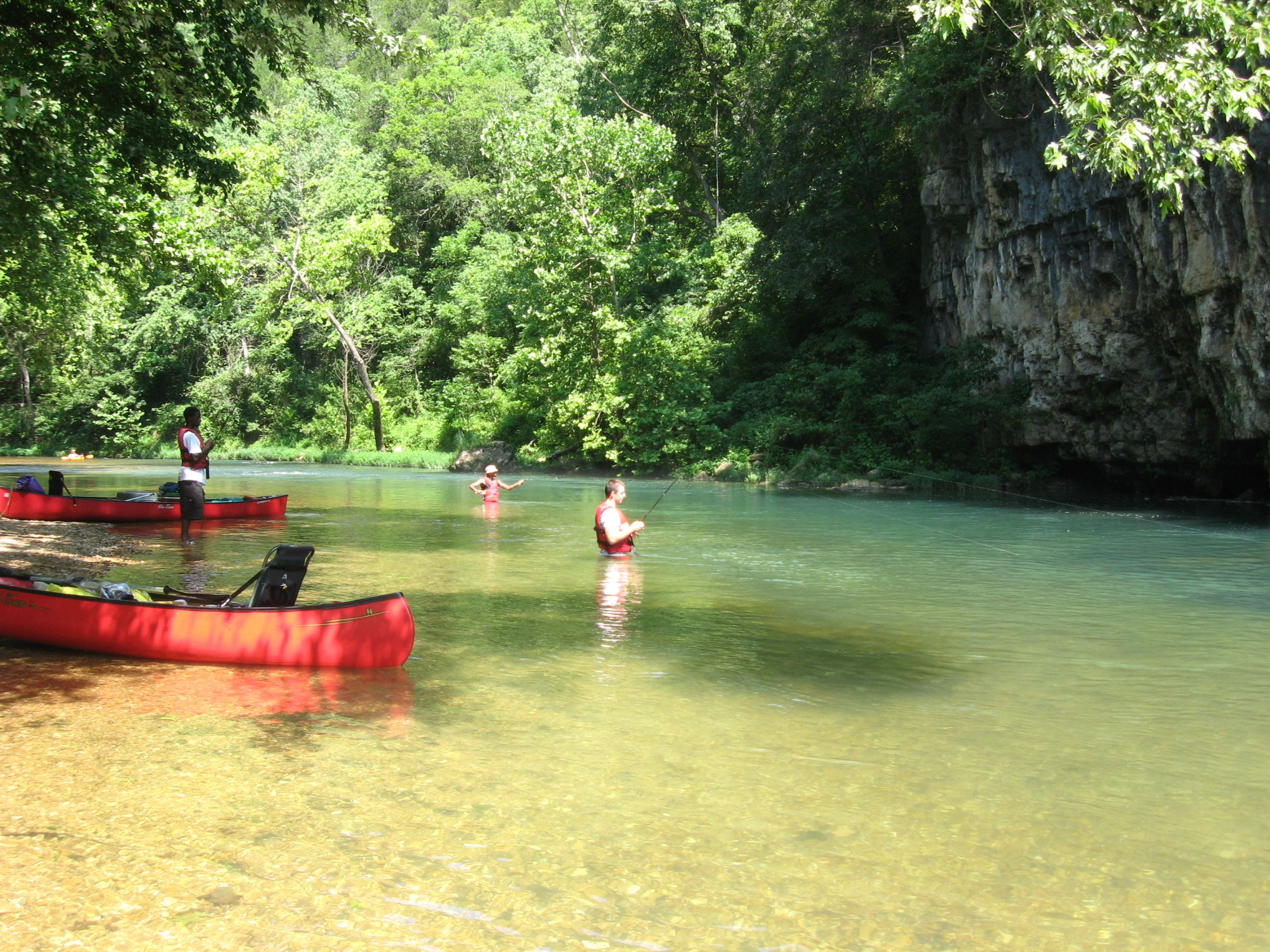 Beautiful Current River, Missouri! (With images)   Camping ...