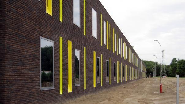 De Woenselse Poort.Sbh Architecten Adviseurs Project Forensic Psychiatric Clinic