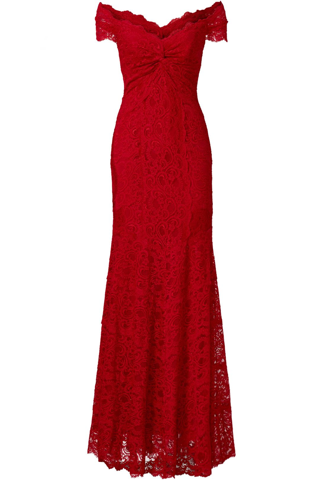 Nicole Miller Red Tempted By You Gown Red bridesmaid