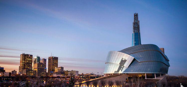 Descubrir el hipermoderno museo canadiense de los derechos humanos