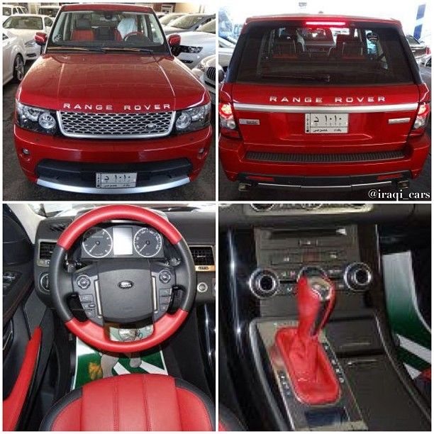 The Unique 2013 Range Rover Sport -Supercharged With Red