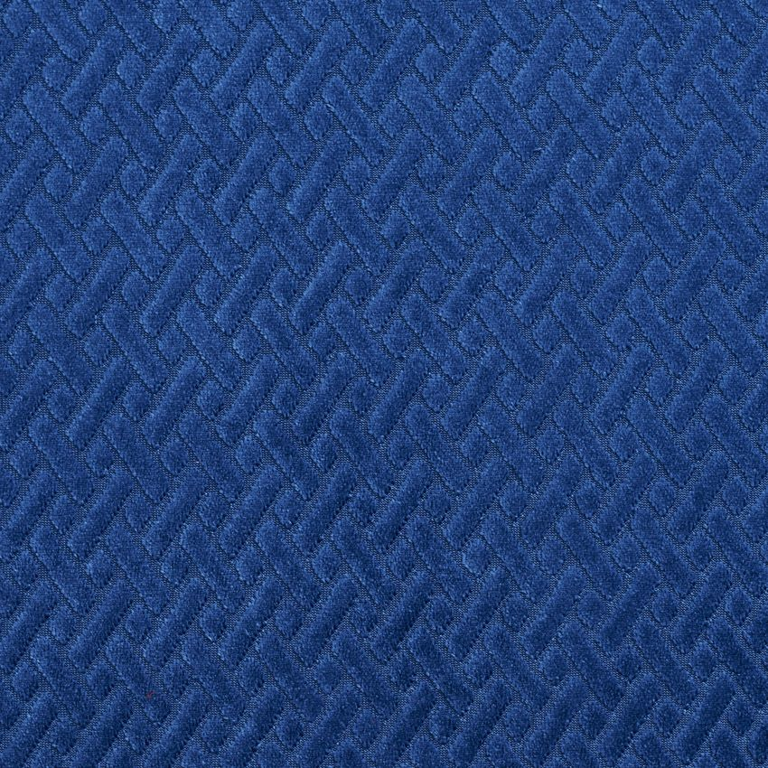 Dark Blue Abstract Velvet Drapery And Upholstery Fabric In 2018