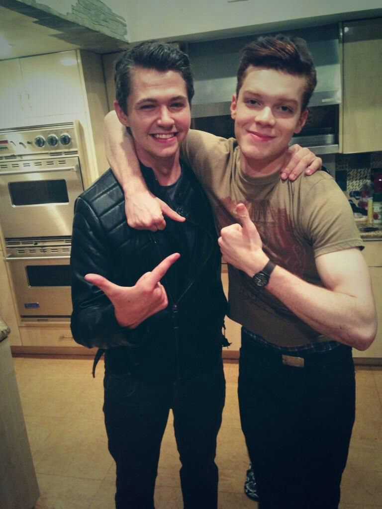 Cameron Monaghan and Damian McGinty | Cameron Monaghan in ...