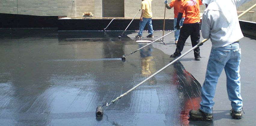 Commercial Roof-top WaterProofing