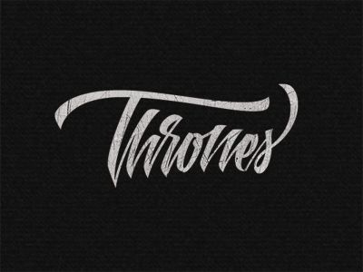Thrones by Artimasa #type #font #typo #lettering