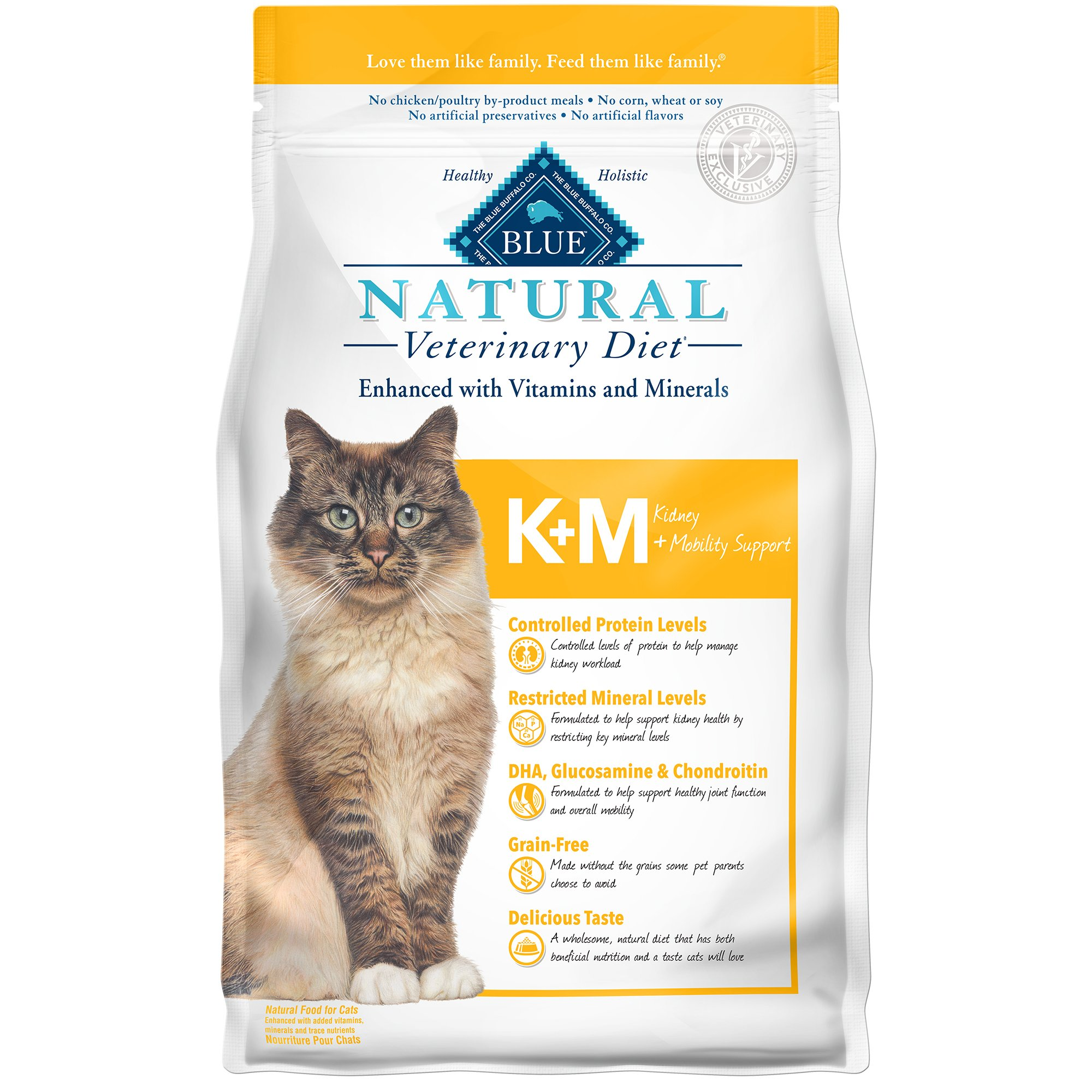 Blue Buffalo Blue Natural Veterinary Diet KM Kidney