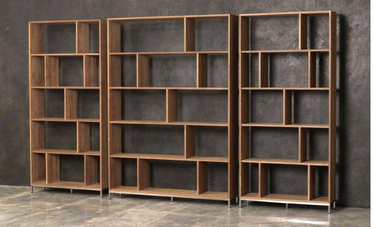 Bookcase dylan meubles bureau et bureau bibliothèque