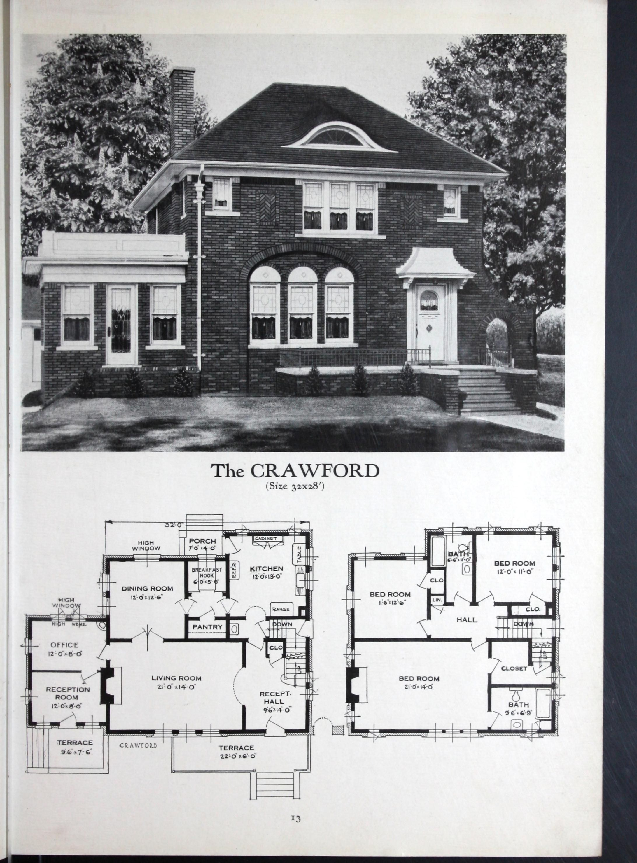 Pin By Richard Poitras On House Plans Vintage House Plans House Plans Retro Home Decor