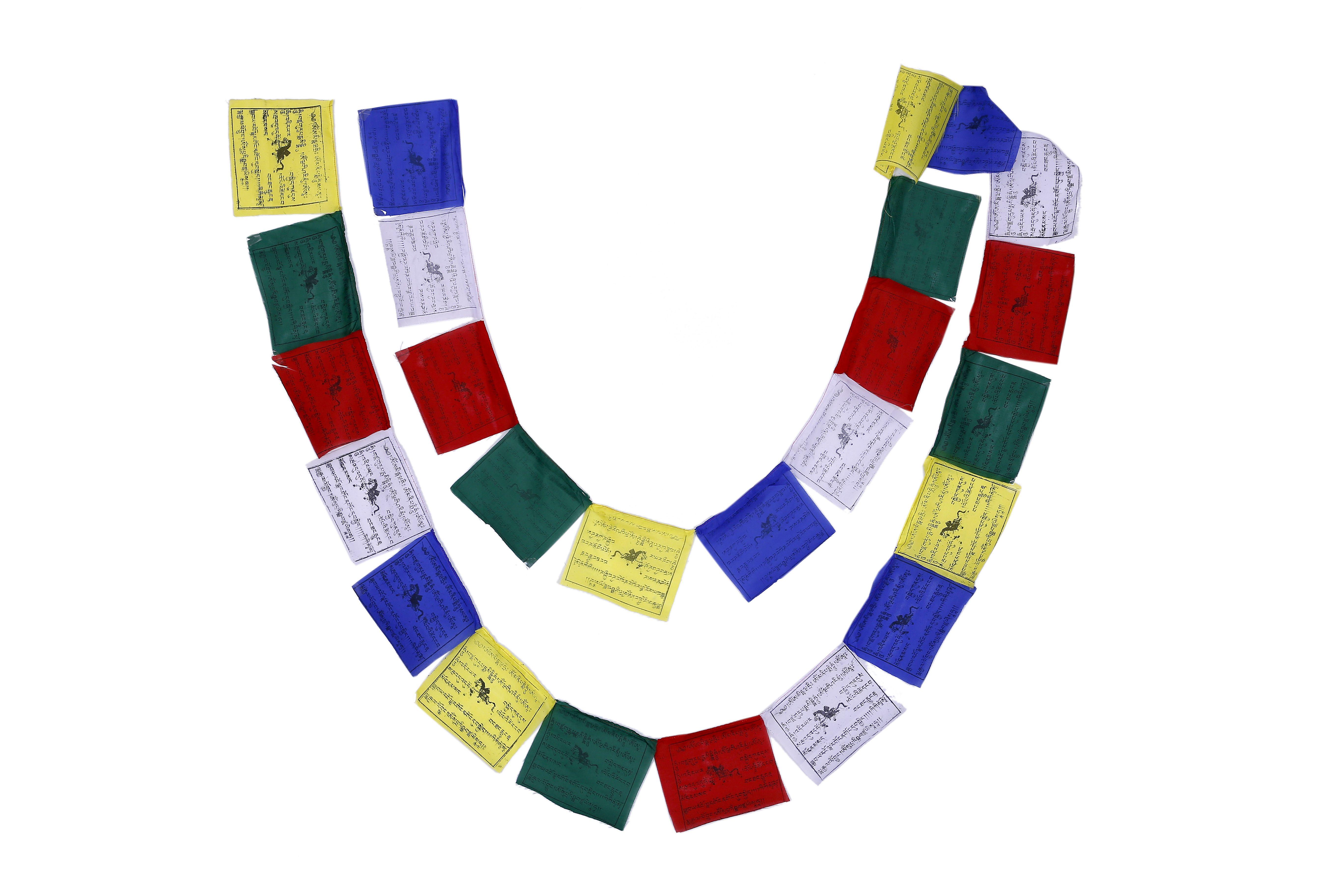 Buddhist Fluttering Prayer Flags Lungta 25flags 2 Gifts