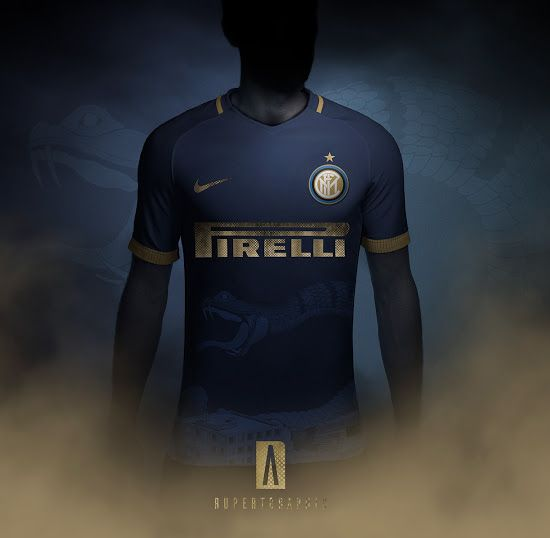 ac75ea6f3f88 Awesome Nike Inter Milan 18-19 Third Kit Concept by Rupertgraphic - Footy  Headlines