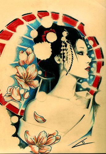 Eccezionale gheisha love | Geisha, Arte del tatuaggio giapponese, Geisha KJ73