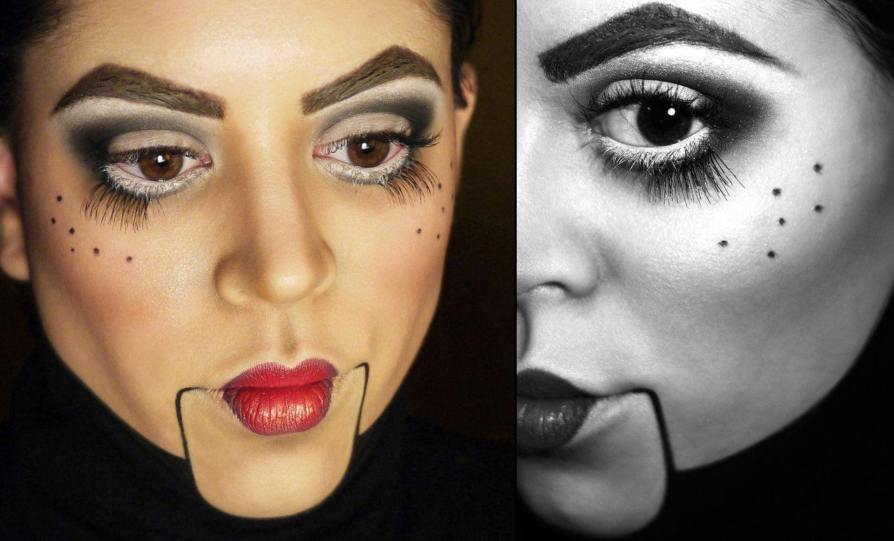 Ventriloquist Dummy Makeup By Mandibulo On Deviantart Maquiagem Fantasias