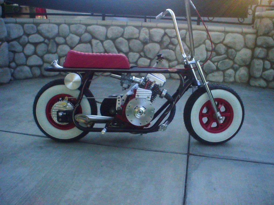 Pin On Custom Mini Bikes