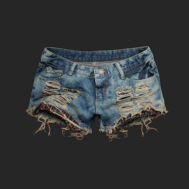 Ripped Up Shorts | Fashion » Ripped Short Shorts Hit or Miss ...