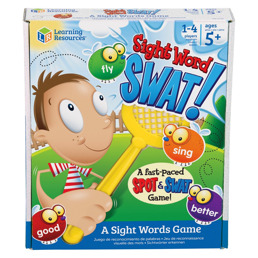 Learning Resources Sight Word Swat A Sight Words Game