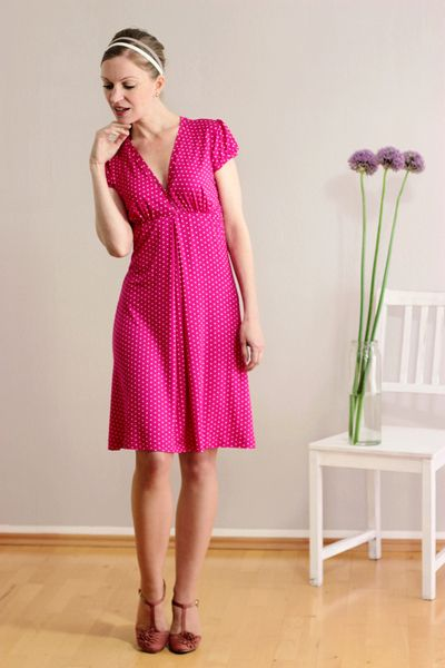 Susetta polka dot dress by Mirastern