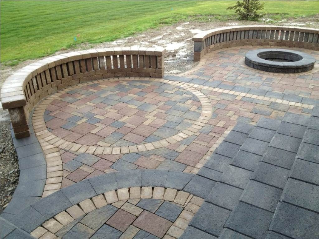 brick patio patterns best patio paver designs home design lover ... - Brick Stone Patio Designs