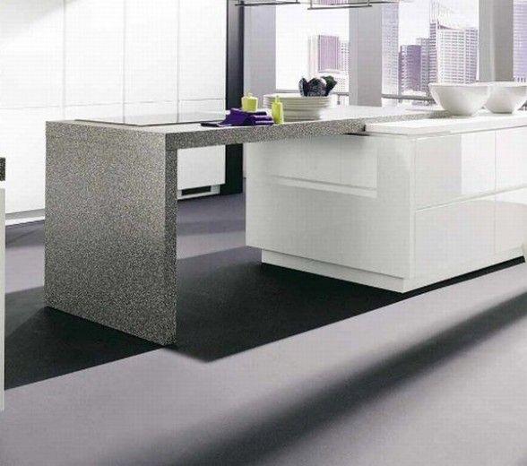 Granit Arbeitsplatten für ein anspruchsvolles Design    www - küchen granit arbeitsplatten