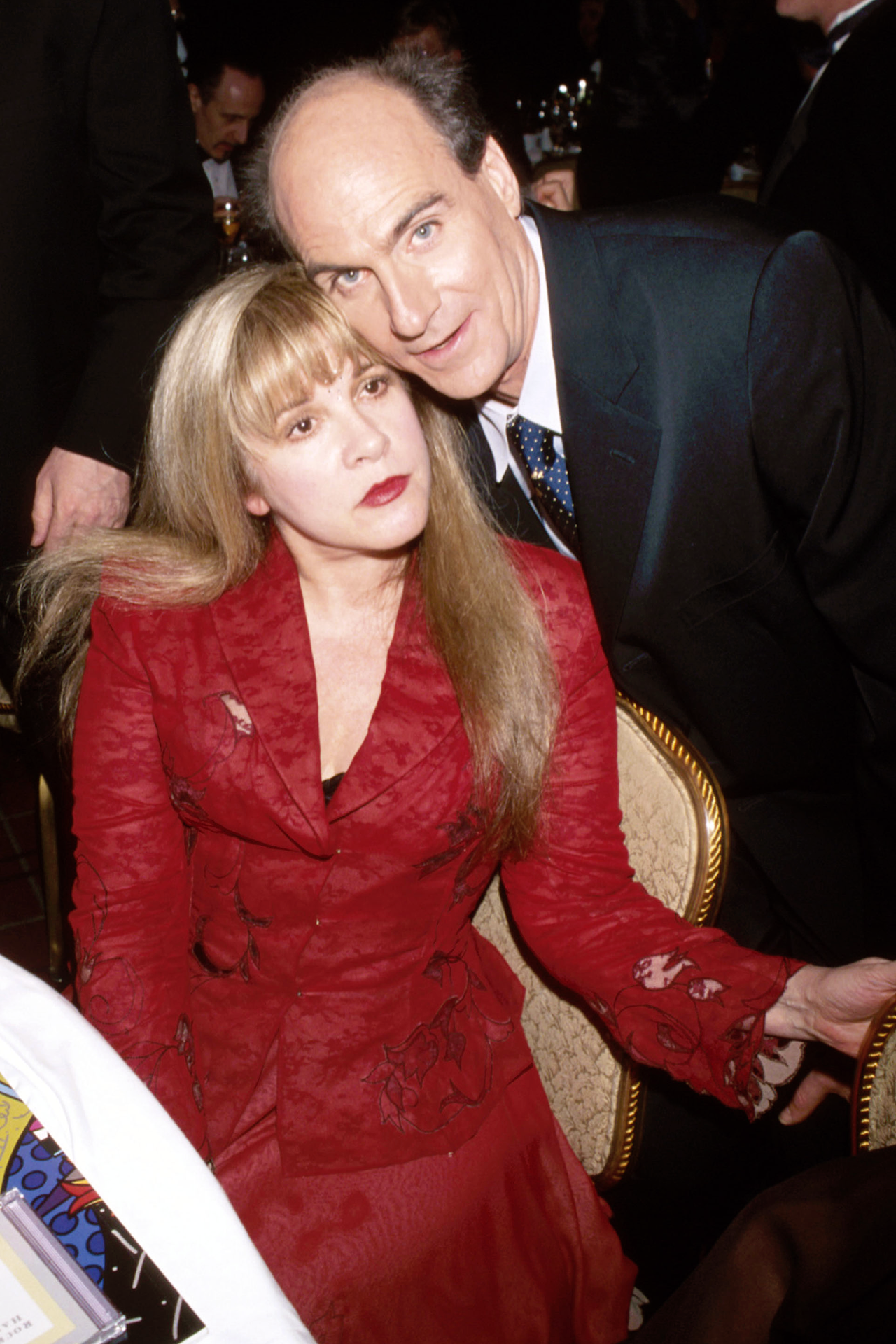 Stevie ~ ☆♥❤♥☆ ~ in a pensive mood and James Taylor