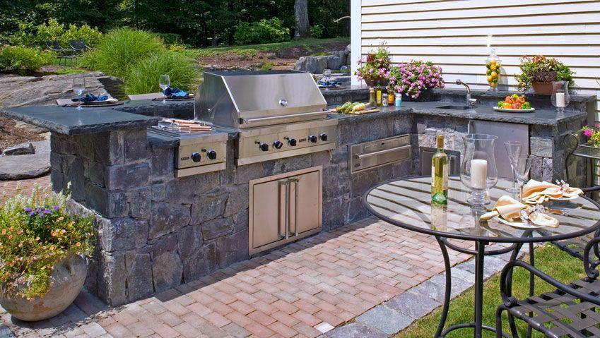 Attractive Barbaque Patio Designs | Outdoor Kitchens U0026 Fireplaces