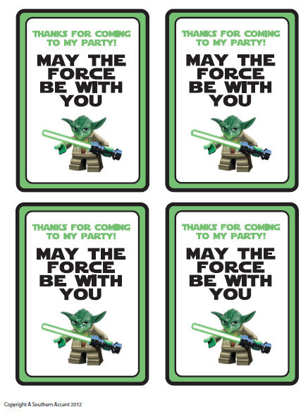 Customized star wars party printables gift bag tags party favors customized star wars party printables gift bag by mysouthernaccent negle Choice Image