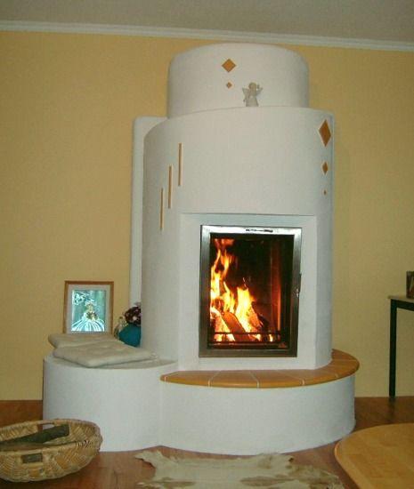Kachelofen,Modern,Putz,Glastüre hochformat Kachelofen - moderne wohnzimmer mit kachelofen