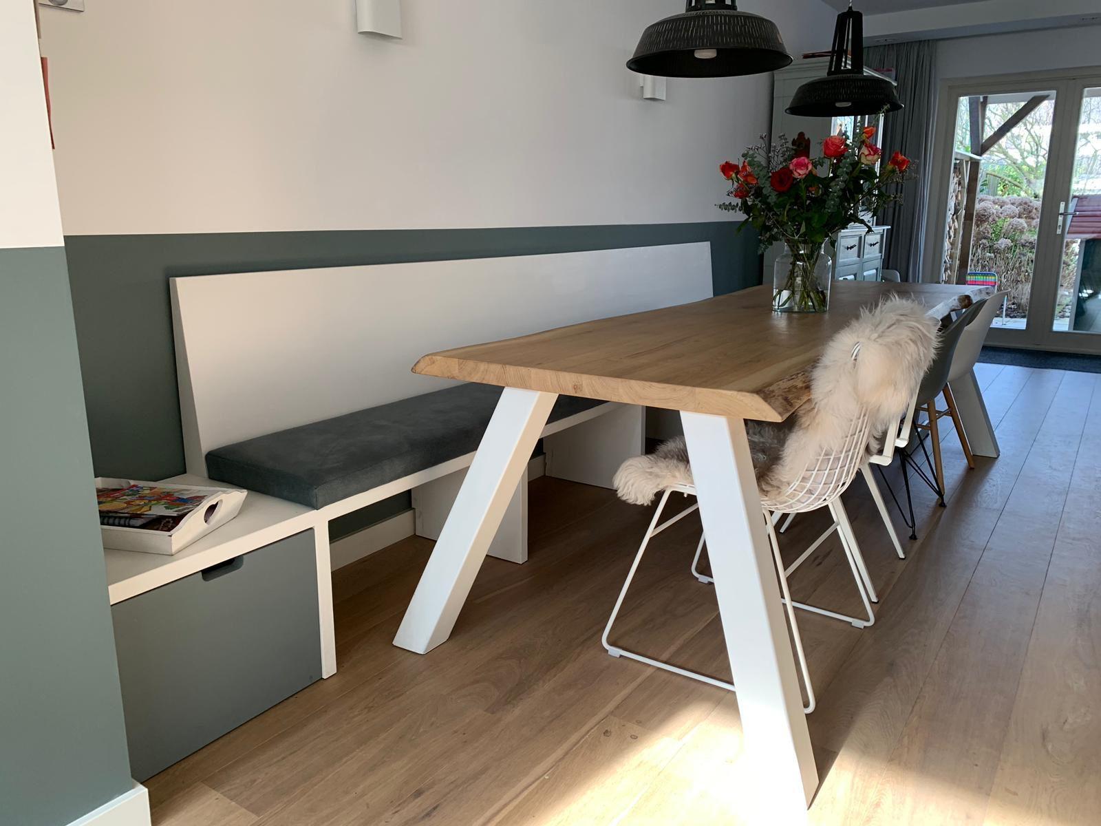 Design Eettafel Bank.Eettafel Bank Strak Scandinavisch Design Kantoorinrichting