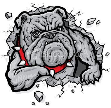 Stock illustration 12334164 bulldogjpg 380368