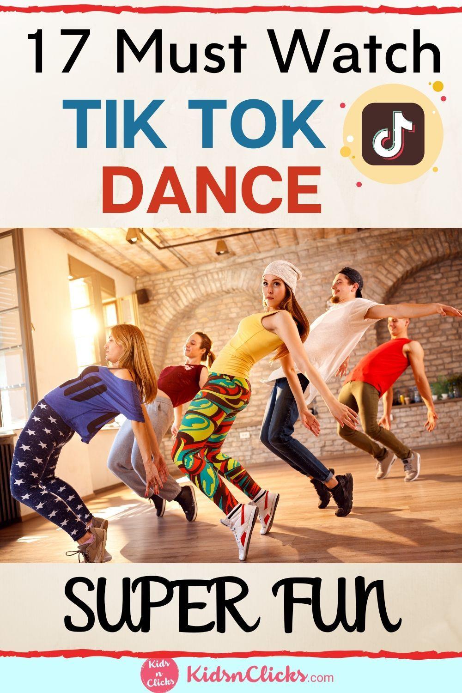 Popular Easy Tiktok Dances 2021 Fun And Entertaining Dance Kids Entertainment Fun