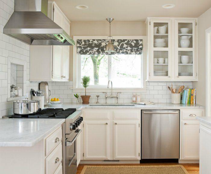 la cuisine style campagne decors chaleureux vintage With ordinary meuble style campagne chic 0 cuisine noire style bistrot cuisine pinterest