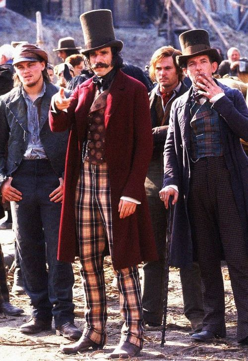 Daniel Day,Lewis in the film Gangs of New York. Back east inspiration.