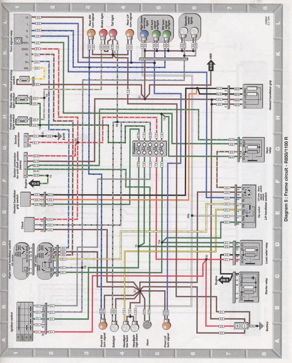 Bmw r1150r electrical wiring diagram #6 | electrical