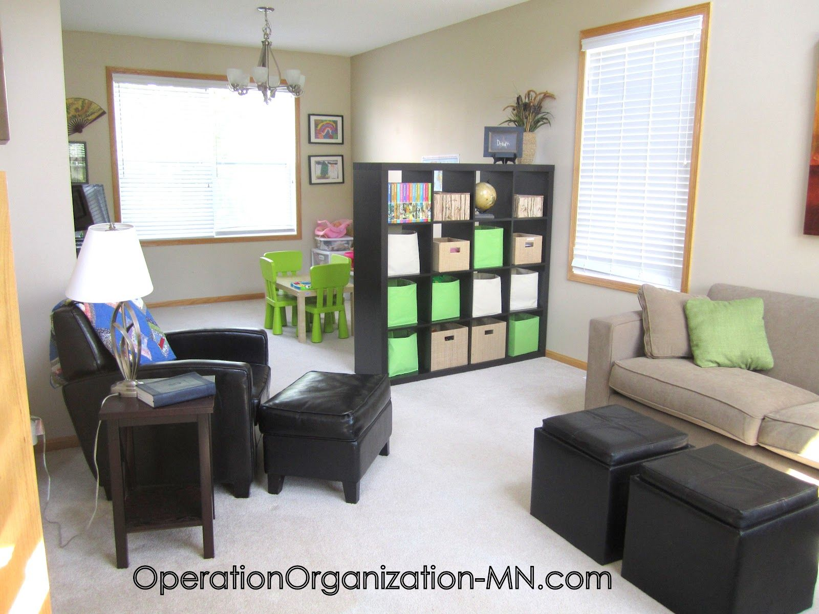 Exceptionnel Operation Organization: Organizing Small Spaces :: Dual Purpose Rooms