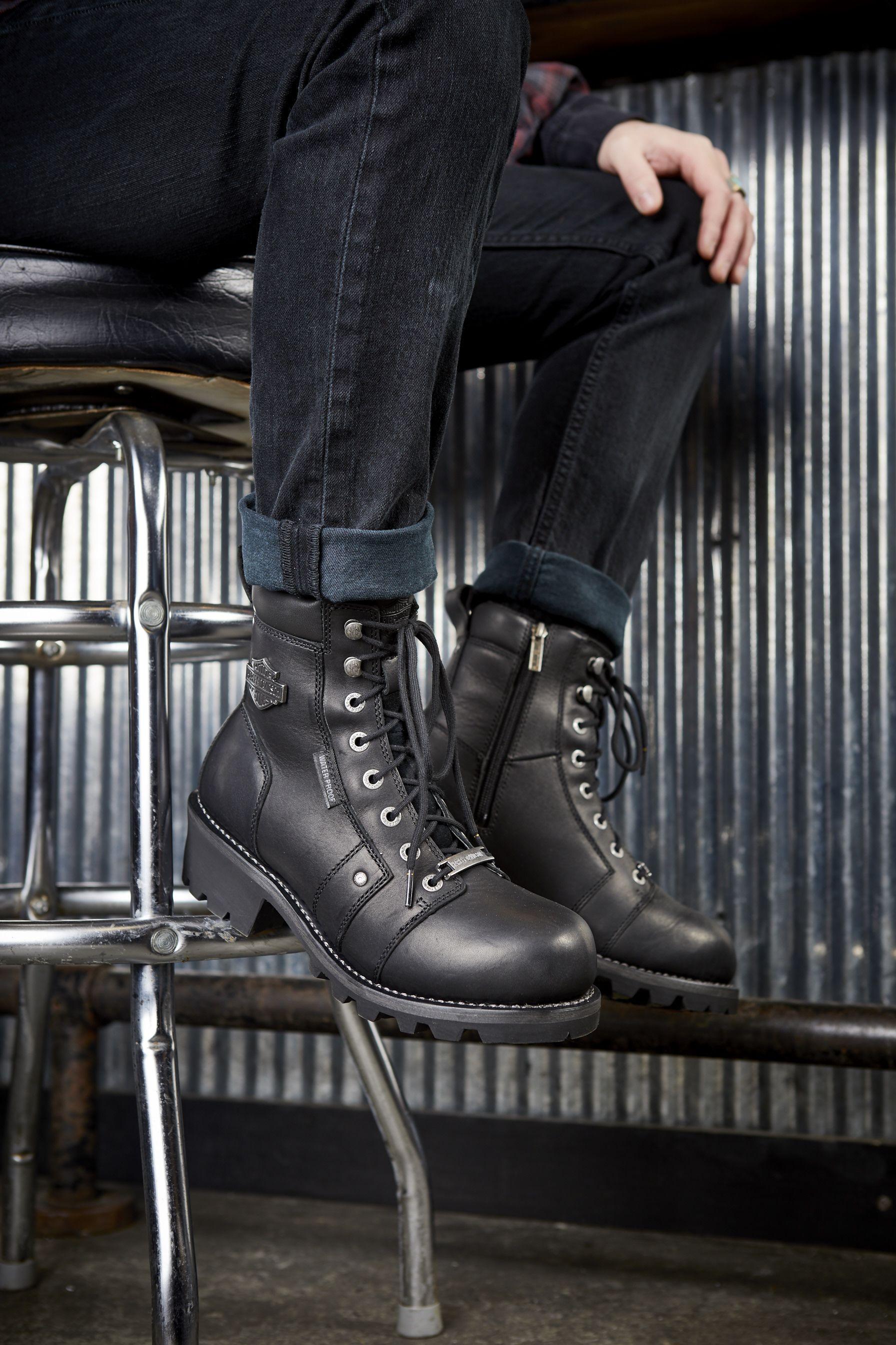 Men's Landale Boot | Harley davidson merchandise, Boots
