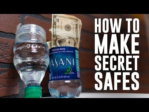 Hack your cereal get every last drop of toothpaste make your own how to make 6 secret safes or hiding spots using common household items from turning a bottle into a hidden compartment to making your clock hide your ccuart Choice Image