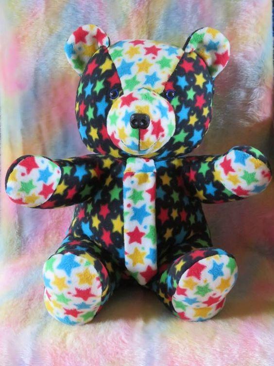 Teddy Bear Tutorial and Pattern   Pinterest   Stofftiere, Stofftiere ...