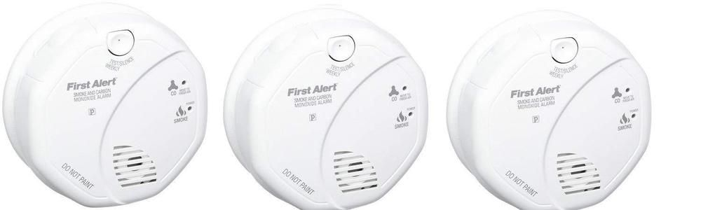 First Alert Sco7cn Combination Smoke And Carbon Monoxide Detector With Voice Unbranded