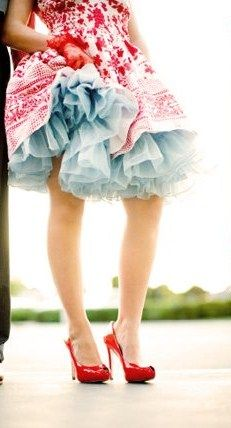 Tulle and Turquoise