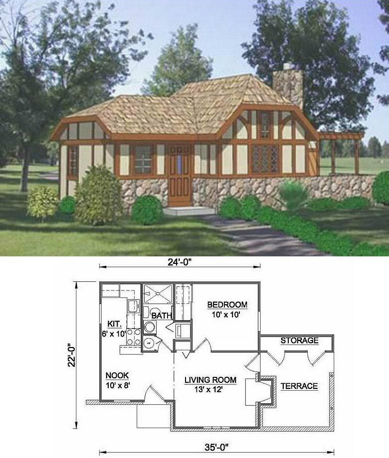 27 Adorable Free Tiny House Floor Plans House Design